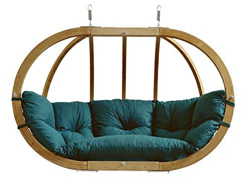 AMAZONAS Hängesessel in edlem Design Globo Royal Chair Green Mehrpersonen bis 200 kg in Grün