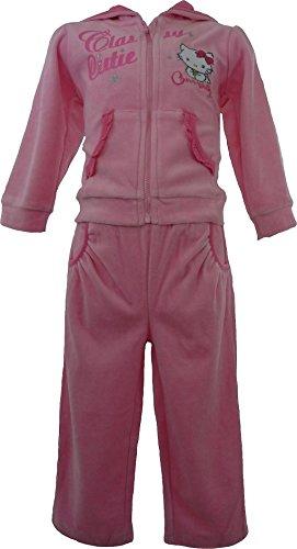 Hello Kitty Baby Jogging Anzug mit Reisverschluss Rosa 12 Monate