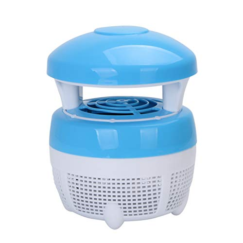 LIANGJING LED-Inhalation lila Licht Anti-Mückenlampe physikalische Mückenkontrolle,Blue