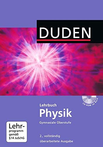 Duden Lehrbuch Physik - Gymnasiale Oberstufe (Inkl. CD-ROM)