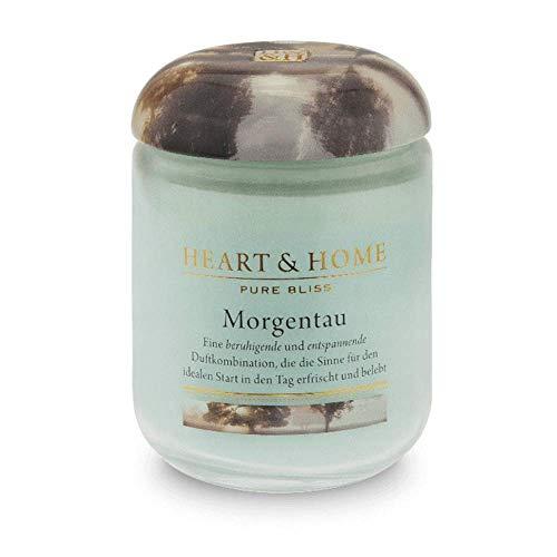 H+H Grosse Duftkerze Duftkerze Morgentau Inhalt: 0,34 Kilogramm (67,62 € * / 1 Kilogramm) eine beruhigende und entspannende Duftkombination