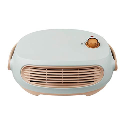 Calentador de baño a prueba de agua, mini calentador de escritorio para el hogar, calentador eléctrico ajustable de temperatura de 3 niveles, secado de ropa colgando sin perforaciones