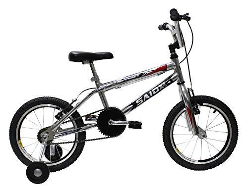 Bicicleta Aro 16 Minicross Saidx (Cromado)