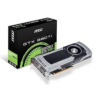MSI NVIDIA GTX 980TI Graphics Card (6 GB, GDDR5, HDMI, DL-DVI,-I PCI-E) (B00YF8L46C) | Amazon price tracker / tracking, Amazon price history charts, Amazon price watches, Amazon price drop alerts