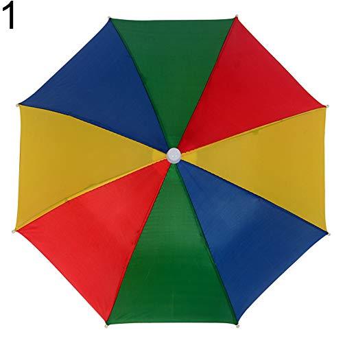 XQxiqi689sy Sonnenschirm für Kinder, faltbar, Kopfbedeckung Gr. Einheitsgröße, 1#