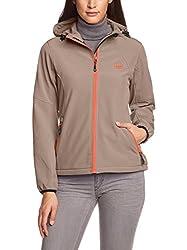 Ultrasport Damen Softshell Jacke mit Kapuze Estelle