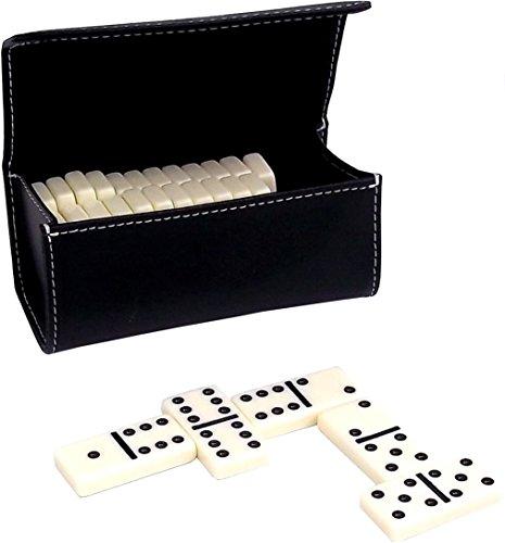 Bey-Berk Domino set in custodia di pelle