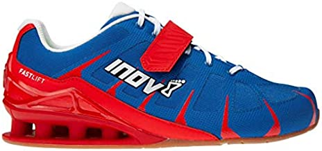 Inov-8 Fastlift 360 (W) - Weightlifting & Sqat Shoes - Powerlifting Shoes - Blue/Red/White - 7.5