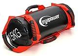 EYEPOWER 3,75-15kg Power Bag 18x50cm Sacca di Sabbia per Sollevamento Pesi Rosso