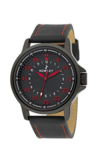 Reloj NOWLEY Hombre Caja Acero Correa Piel