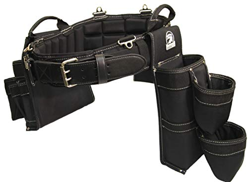 GatorBack B340 Concrete/Foundation Setter Tool Belt Combo. Made Specifically for Foundation Ties and Concrete Accessories (Medium 31'-35' Waist)