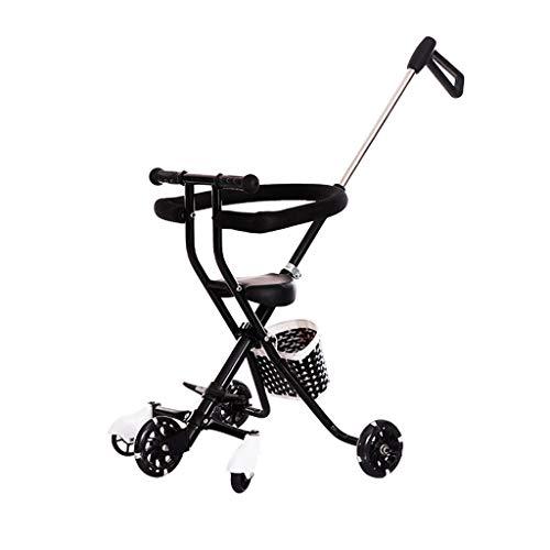 Baby stroller Facing Sun Leichter Einknopf-Klappwagen Leicht zu tragen und leicht zu transportieren, geeignet für Kinder von 1 bis 6 Jahren (3 kg)