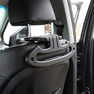 KMMOTORS Car Clothes Multi Hanger Jackets Suits Holder for Dividable Headrest (Batman Hanger)