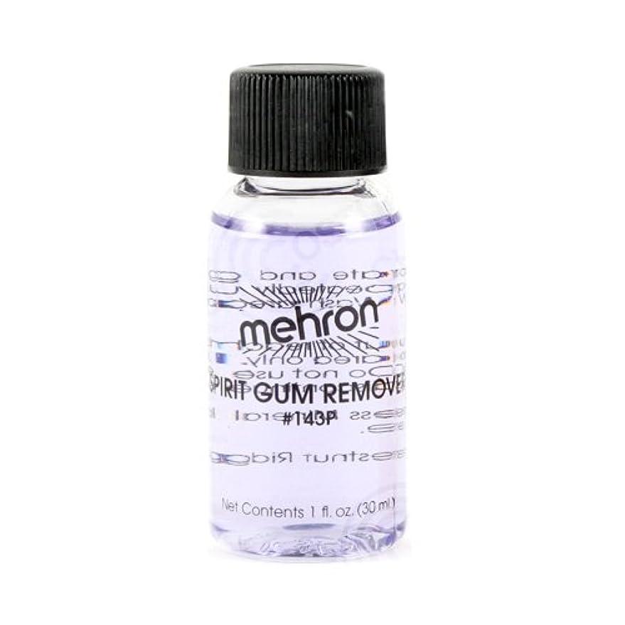 アパート発動機裏切る(6 Pack) mehron Spirit Gum Remover (並行輸入品)