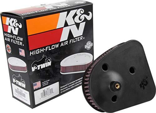 K&N Motorrad-Luftfilter Tauschluftfilter HD-7517 für Harley-Davidson XG 750 Street R, Unisex, Chopper/Cruiser, Ganzjährig, Kunststoff