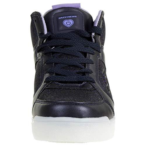 Skechers Mädchen Energy Lights Hohe Sneaker, Blau - 2