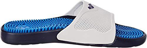 ARENA Unisex– Erwachsene Massage Badesandale Marco X Grip, Cyan-Black, 40