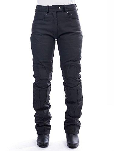 BELO JULIA damesleren broek 46 EU mat zwart