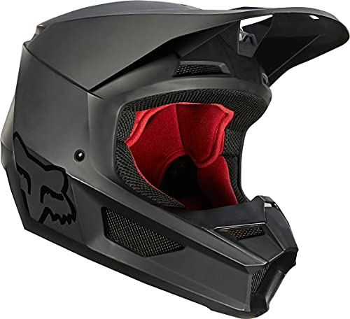 Fox V1 Matte Helmet Matte Black L