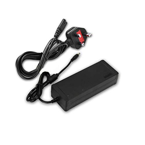 Humax Ersatz-Netzteil kompatibel mit HDR-1100S, DTR-T2110, DTR-T2000, DTR-T2100, DTR-T4000, FVP-4000T, FVP-5000T, HDR-1000S, HDR-1010S (12 V ~ 5 A PSU + Humax Adapter)