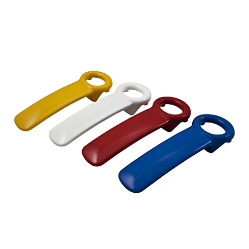 Jarkey 1 Stück Schraubdeckelöffner Deckelöffner farbig Sortiert