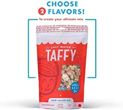 Taffy Shop Create a 1/2 pound bag of Assorted Saltwater Taffy-Choose up to 2 Flavors of Gourmet Salt Water Taffy's (World's Best Taffy)