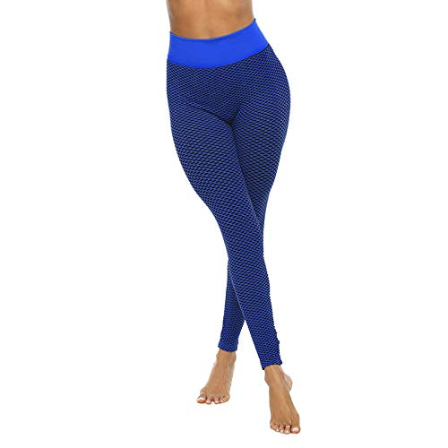 Womens Jeans, Women's Lattice Printing High Waist Stretch Strethcy Fitness Leggings Yoga Pants for Summer Holiday