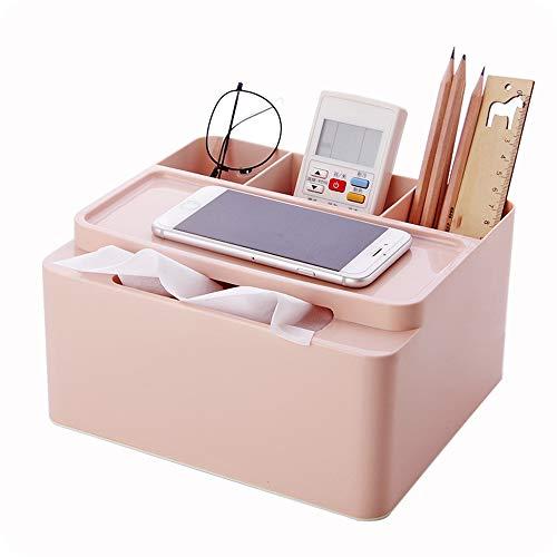 Cheaonglove Organizador De Escritorio NiñA Oficina Organizador Escritorio Apilable Cajas de Almacenamiento Escritorio de los organizadores Pink