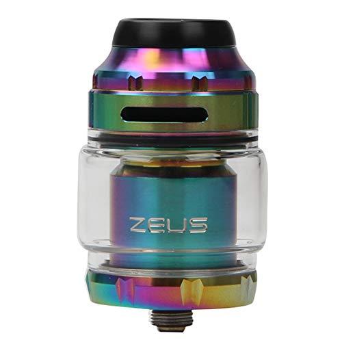 GeekVape Zeus X RTA 4.5ml Capacidad del tanque de apoyo de la bobina de la construcción de la bobina simple doble E-cig Vape Tanque con 810 Delrin punta de goteo atomizador de cigarrillos electrónicos