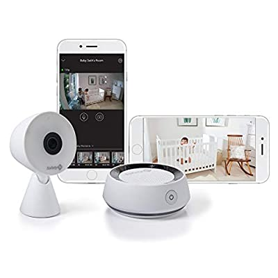 Safety 1st HD Wi-Fi Baby Monitor Camera with Sound- and Movement-Detecting Audio Unit by Safety 1st