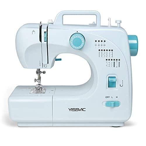 YISSVIC Machine à Coudre Electrique 16 Points Fil 2...
