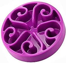 OFKPO Perro alimentador alimentación Lenta Pet Bowl - Saludable diseño Bol para Perro de Mascota, Reducir significativamente la Velocidad de Comer Perro