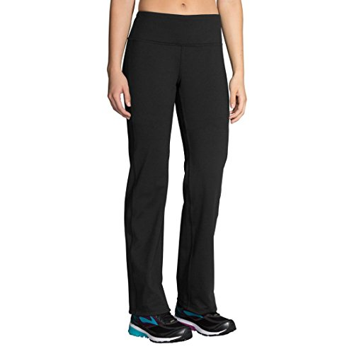 Brooks Women's Threshold Pant, Black, Small