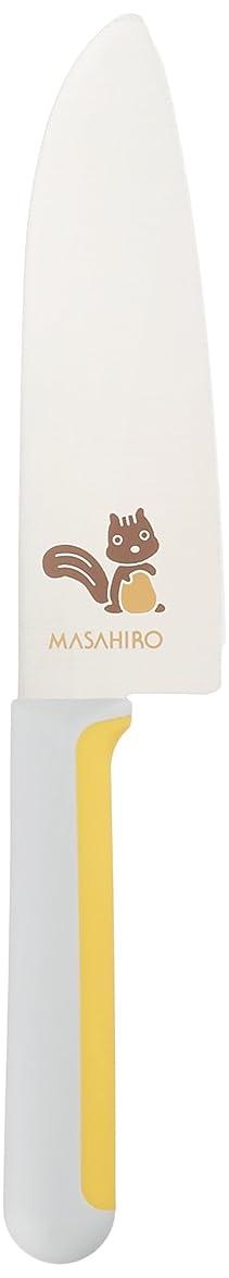 面白いペインティング追い越す正広(マサヒロ) こども包丁 りす(幼児向き) 右きき用 24348