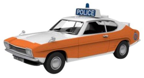 Corgi (Vanguard 1/43 Ème)) - CVA13301 - Radio Commande, Véhicule Miniature - Ford Capri MKI - Police - Lancashire Constabulary