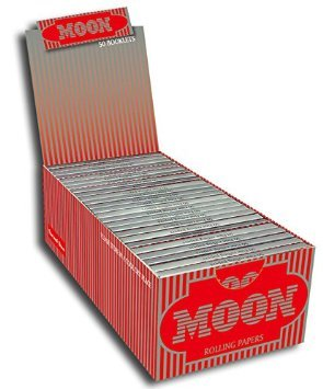 CAM2 Pre-rolled Cigarette Papers, 50 Booklets of 50, 2500 Total Rolling Papers (70mm)