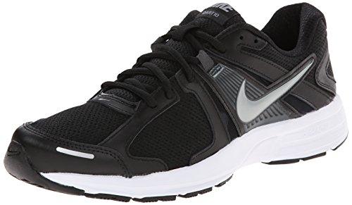 Nike Men's NIKE DART 10 RUNNING SHOES 10 Men US (BLK/MTLC CL GRY/ANTHRCT/WHITE)