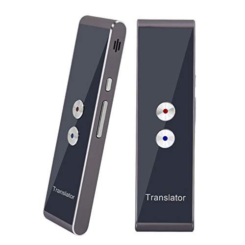 Translaty Muama Enence Smart Translator,Tragbarer, intelligenter Übersetzer mit 40 Sprachen Instant Real Time Voice Languages (Gold)