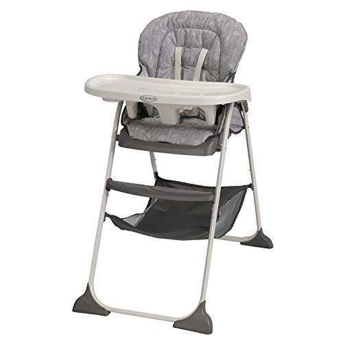 Product Image of the Graco Slim Snacker High Chair, Whisk
