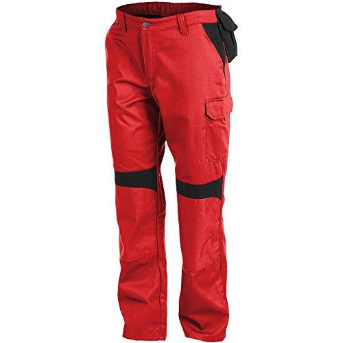 Kubler 27865413-5599-52 Broek Inno Plus Maat 52 in rood/Zwart