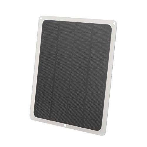 5W 12V Portable High Conversion Rate USB Ports 5W 12V Solar Charger Lightweight Solar Panel Battery Charger Foldable for Cell Phones,Iphone,iPad,Android