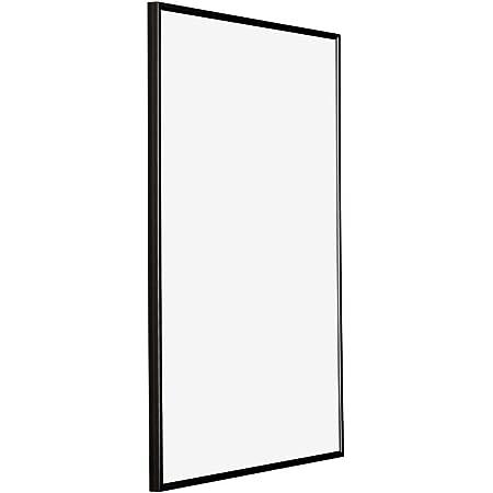 yd. Your Decoration - 60x90 cm - Cadres Photos en Plastique avec Verre Plexiglas - Excellente Qualité - Noir Brillant - Anti-Reflet - Cadre Decoration Murale - Evry.