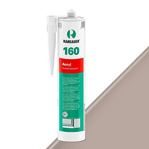 Ramsauer 160 Acryl 1K Acryl Dichtstoff 310ml Kartusche (Grau)