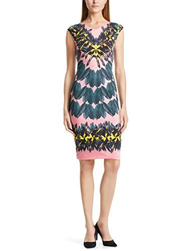 Marc Cain Collections Casual Kleider Vestito, Multicolore (Pink Lady 218), 42 (Taglia Produttore: 2) Donna