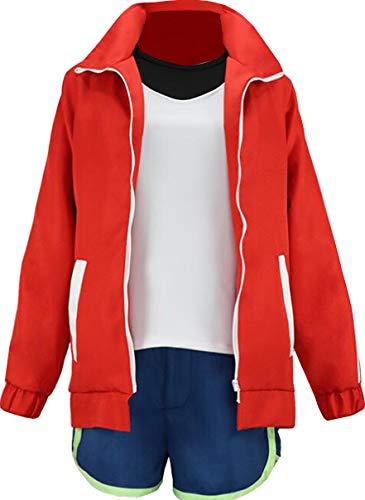 Nsoking Anime New Animal Kagemori Michiru BNA Cosplay Costume Sports Jacket Suit Halloween Outfit (XX-Large, Mens)