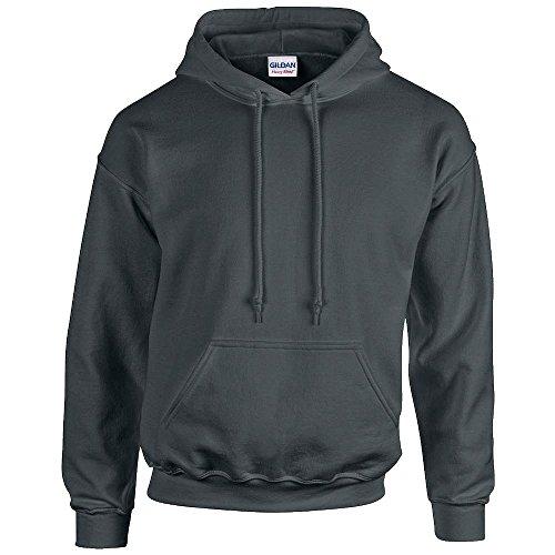 Gildan Sweat à capuche adulte Heavy Blend - Anthracite - Taille M