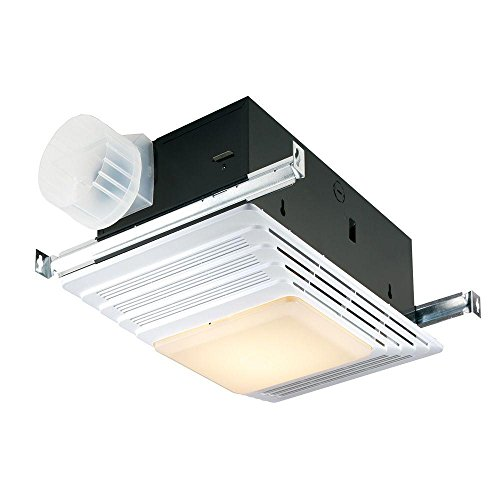 Broan Heater, Fan, and Light Combo for Bathroom and Home, 4.0 Sones, 1300-Watts, 70 CFM