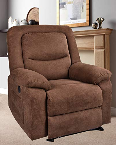 BINGTOO Power Recliner Chair with Heat and Massage