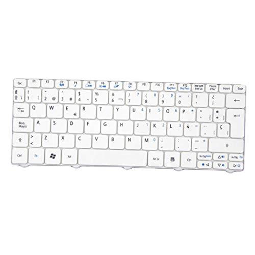 balikha Nuevo Teclado de Escritorio para Acer D255 AOD257 D260 D270 532 532H AO533 NAV50