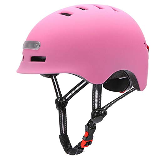 Best Review Of Fan-Ling Electric Scooter Helmet with USB Recharge Light,Cycling Helmet MTB Road Bi...